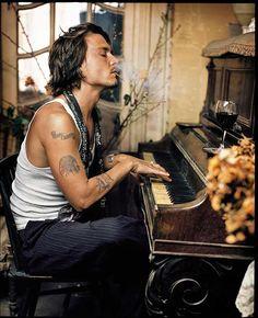 Johnny Depp, Paris MARK SELIGER