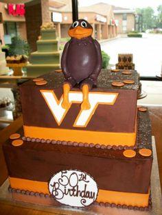 #VirginiaTechCake #Aspoonfullasugar #Groomscakes