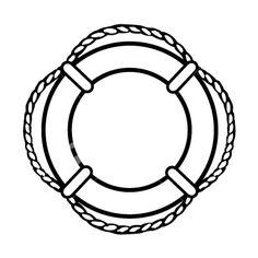 lifesaver ring nautical clipart