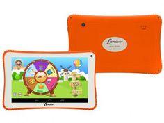 """Tablet Lenoxx Info Kids 8GB 7"""" Wi-Fi Android 5.1 - Proc. Quad Core Câmera…"""