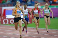 Daphne Schippers Europees kampioen 100m
