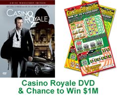 Casino Royale DVD and Chance to Win $1,000,000 « Kudosz Sweepstakes