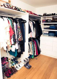Now that's an organized closet.