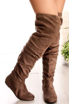 17b79c283578 These boots feature a suede material