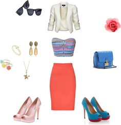 """""""Colorful:)"""" by nichellehoward on Polyvore"""
