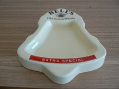 Hey, I found this really awesome Etsy listing at https://www.etsy.com/listing/221325032/great-bells-whisky-ashtray-in-the-shape