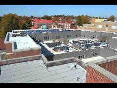 Cool Time Lapse Video About The Installation Of Solar Panels On The Center for Manufacturing Excellence.