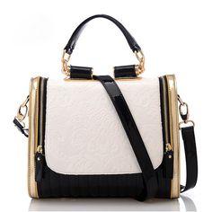Qossi New Fashion Hot Sale Retro Korean Style PU Leather Handbag Shoulder Bag Black Qossi,http://www.amazon.com/dp/B00IL3TMFW/ref=cm_sw_r_pi_dp_sPMotb02HNKJ5Q41