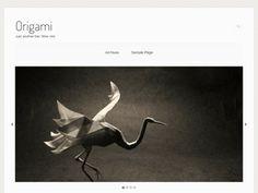 WordPress › Origami « Free WordPress Themes