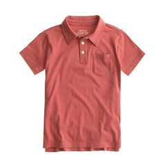 J.Crew - Boys' jersey polo $26.50. Add monogram $36.50 Deep Admiral color