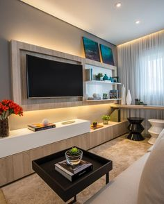 30 Living Room Design Ideas With Tv Set On Wall  Tv Sets Living Best Living Room Designes Creative Decorating Inspiration