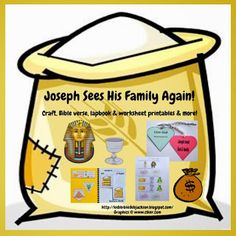 Genesis: Joseph Reunited With His Family in Egypt with visuals and hands-on!