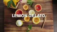 Tart, creamy and all too dreamy! Try this lemon gelato you can make at home.