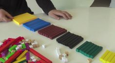 Square numbers using cuisenaire rods