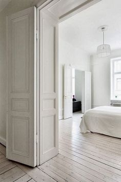 Loving these French style wall panelings, mouldings & ceilings … & the gorgeous wood floorings.  xx debra 2 koziel, 2 arkpad, 3 wendall, 4 frenchcountryhome 5 dustjacket