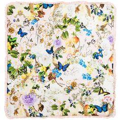Roberto Cavalli - Baby Girls Cotton Padded Blanket (75cm) | Childrensalon