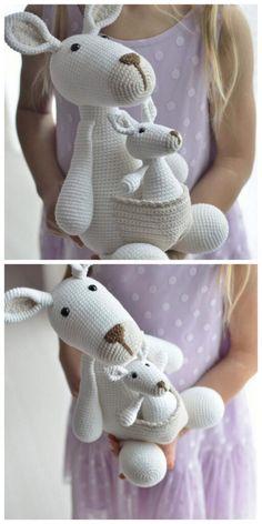 Crochet Animal Patterns, Crochet Doll Pattern, Crochet Stitches Patterns, Stuffed Animal Patterns, Crochet Patterns Amigurumi, Crochet Animals, Crochet Dolls, Crochet Fairy, Cute Crochet