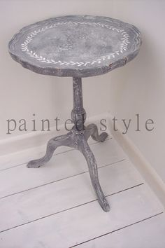 painted style: Gustavian inspired wine table...