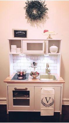 43 Ideas For Baby Room Ideas Ikea Kitchen Hacks Ikea Kids Kitchen, Toddler Kitchen, Diy Play Kitchen, Kitchen Hacks, Kitchen Craft, Ikea Baby Room, Ikea Furniture Hacks, Ikea Hacks, Kids Room