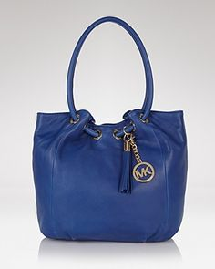 Want: Michael Kors Ring Tote in Colbalt.