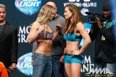 Sean Shelby says Ronda Rousey vs. Miesha Tate II is the highlight of his UFC matchmaking career Ronda Rousey Miesha Tate, Ronda Jean Rousey, Ronda Rousey Weigh In, Mma, Ufc 2, Sports Drawings, Ufc Women, Wwe Wallpaper, Exercises