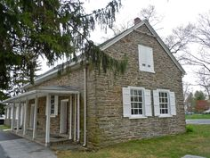 FARMHOUSE – vintage early american farmhouse at old haverford friends meeting, haverford, pennsylvania, built in 1700, expanded in 1800.