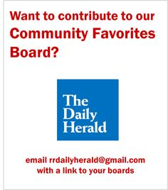 Community Favorites board from The Daily Herald in North Carolina. | Collaborate with us on this board.
