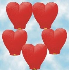 Image® Red Heart sky wishing lantern For Valentine's Day, Wedding and Party (10 PCS) by BrainyTrade. $16.69. Introductions: 1.Chinese Paper Lantern, also named Kongming Lantern. 2.Chinese Paper Lanterns are ideal for wedding, holiday, birthday and other celebrations parties; they are the perfect, safe alternative to a fireworks display that can provide a finale to your big day that you and your guests will remember forever! 3.You can design your lantern by yo...