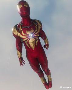 New Iron Spider-man suit: Avengers 4 Marvel Comics, Marvel Art, Marvel Heroes, Marvel Avengers, Iron Spider, Spider Spider, Spectacular Spider Man, Avengers Wallpaper, Amazing Spiderman