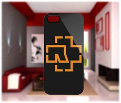 Rammstein Rock Band Logo iPhone 4/4S Case iPhone 5 Case Samsung Galaxy S2 Case Samsung Galaxy S3 Case