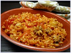 Risotto con seppioline, ricetta sopraffina ,rustica ma nel contempo molto ricetcata nella sua semplicità . Adoro preparar risotti come questo Quinoa Rice, Orzo, Pizza, Recipe For 4, Ravioli, Gnocchi, Fried Rice, Food To Make, Favorite Recipes