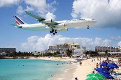 Aeroporto de ilha do Caribe é eleito local com pouso mais impressionante do mundo.