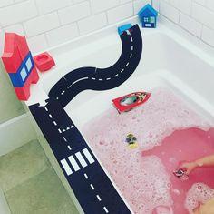 Run Around, Bath Time, Bath Mat, Chelsea, Bathtub, Bathroom, Running, Play, Kids