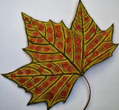 BUNTPAPIERFABRIK: Blätter-Muster