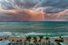 We had some massive unexpected (but colorful) sunset storms hit us this week while we were in Ft. Lauderdale. It was beautiful to watch from our balcony. I have some behind-the-scenes video of this coming up soon as well (currently being edited together!)