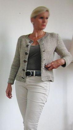 Ravelry: Nearly Chanel pattern by von Hinterm Stein
