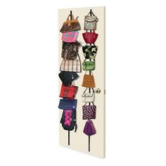 Over-the-Door Purse Racks (Set of 2) - $9,99 Link: http://www.bedbathandbeyond.com/store/product/over-the-door-purse-racks-set-of-2/1014181504?categoryId=10619