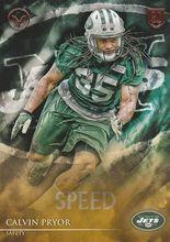 2014 Valor Football Speed #127 Calvin Pryor - New York Jets RC