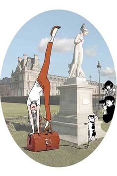 Roger Vivier illustrations Stylebook 2012 by Margaux Motin