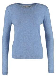 KASCHMIRPULLOVER - Stickad tröja - slate blue