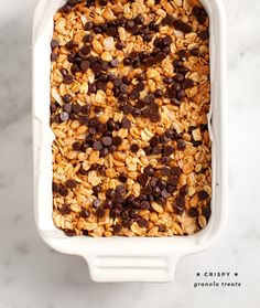 In a small glass bowl mix the coconut oil, brown rice syrup and peanut butter. If your ingredients are too thick to whisk, pop it into the m...