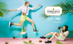 #ExoticAndWild #NewCollection #SS15 #Summer #LemonJelly