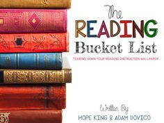 Elementary Shenanigans: The Reading Bucket List: The Big Reveal! Third Grade Reading, Student Reading, Teaching Reading, 40 Book Challenge, Elementary Shenanigans, Rubrics For Projects, Reading Genres, Good Readers, Book Letters