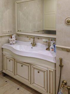 Квартира для молодой девушки (фото реализованного проекта в конце) - запись пользователя Трифанова Мария (дизайнер интерьера) (id1348187) в сообществе Дизайн интерьера в категории Авторские проекты дизайнеров.(Посты не по теме будут удаляться!) - Babyblog.ru Interior, Single Vanity, Vanity, Bathroom Vanity, Bathroom