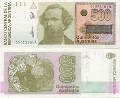Old Money from the 1990's Argentina