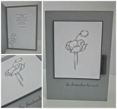 . Kreativ Blog by Claudi: Trauerkarten