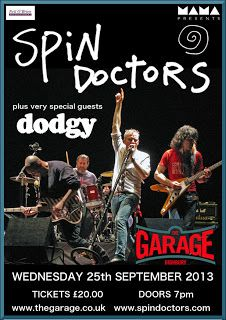 Spin Doctors announce London Garage concert with special guests Dodgy