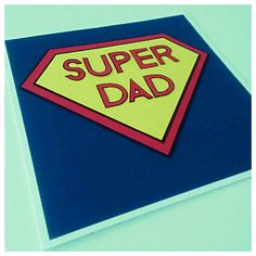 Father's Day Card, Mother's Day Card, Dad, Pop, Dada, Mum, Mom, Mama, Handmade in England UK by PaperScissorsStitch on Etsy Grandmother's Day, Super Dad, Special Person, England Uk, I Am Happy, Fathers Day, Birthdays, Dads, Messages