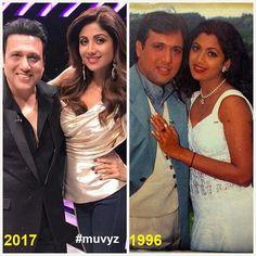 """1 Likes, 1 Comments - muvyz.com (@muvyz) on Instagram: """"#Govinda #ShilpaShetty #BollywoodFlashback #90s #NowAndThen #muvyz120917 @TheShilpaShetty…"""""""