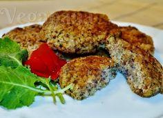 Hambúrguer de Arroz Integral sem Glúten ~ Veganana